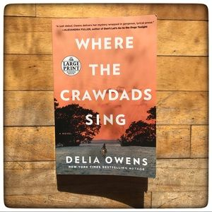"""Where the Crawdads Sing"" novel by Delia Owens"